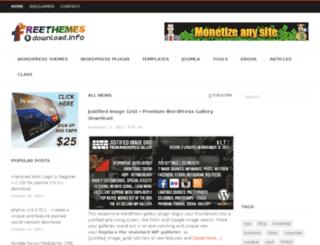 freethemesdownload.info screenshot