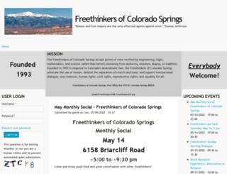 freethinkerscs.com screenshot