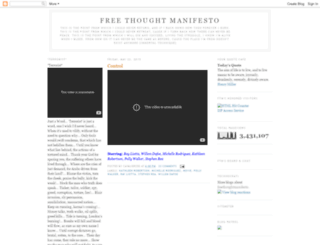 freethoughtmanifesto.blogspot.co.il screenshot