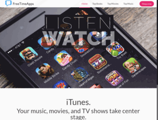 freetimeapps.com screenshot
