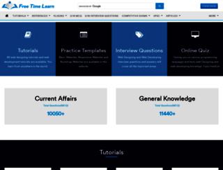freetimelearning.com screenshot