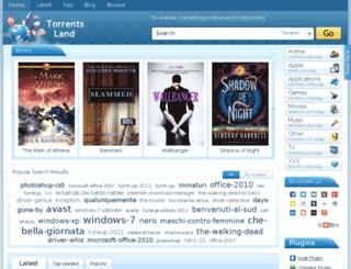 freetorrentz.org screenshot