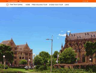 freetourssydney.com.au screenshot