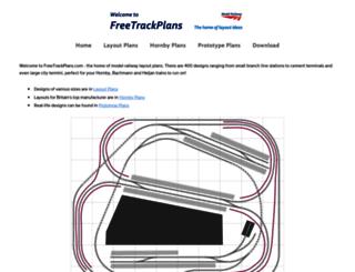 freetrackplans.com screenshot