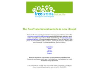 freetradeireland.ie screenshot