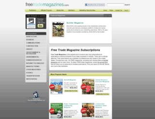 freetrademagazines.com screenshot