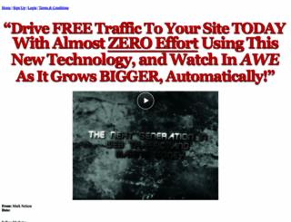 freetrafficgenerator.net screenshot