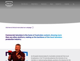 freetv.com.au screenshot