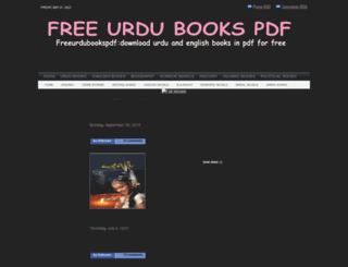 freeurdubookspdf.blogspot.com screenshot