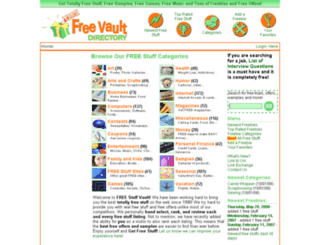 freevault.com screenshot
