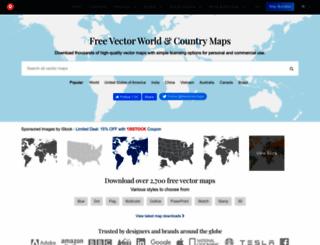 freevectormaps.com screenshot