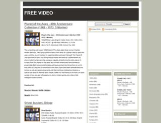 freevideofilm.blogspot.com screenshot