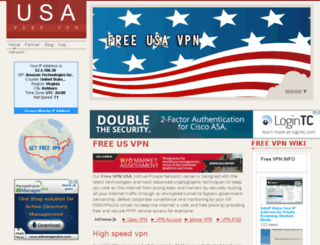 freevpnusa.com screenshot