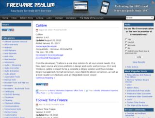 freewareasylum.com screenshot