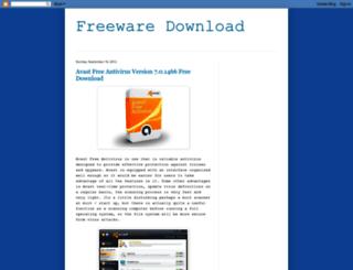 freewaredll.blogspot.com screenshot