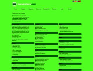 freewarehome.com screenshot