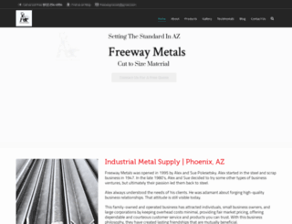 freewaymetals.com screenshot