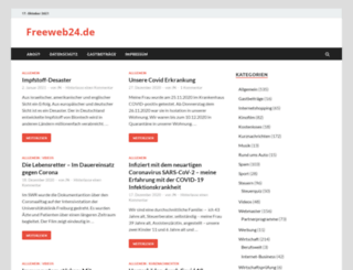 freeweb24.de screenshot