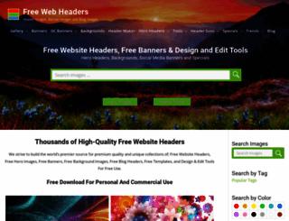 freewebheaders.com screenshot