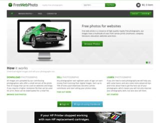 freewebphoto.com screenshot
