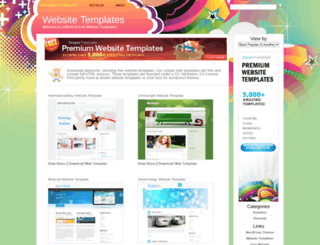 freewebsitetemplatez.com screenshot