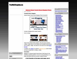 freewebtemplates.me screenshot