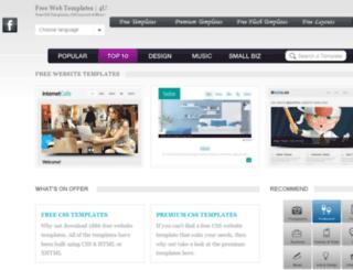freewebtemplates4u.com screenshot