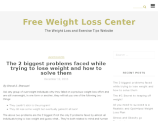 freeweightlosscenter.com screenshot