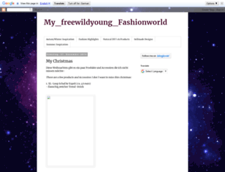 freewildyoungfashionworld.blogspot.de screenshot
