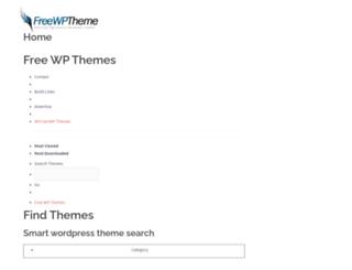 freewordpresstheme.info screenshot