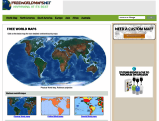 freeworldmaps.net screenshot