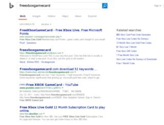 freexboxgamecard.com screenshot