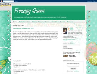 freezingqueen.blogspot.com screenshot