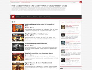 freezoobygamez.blogspot.com screenshot
