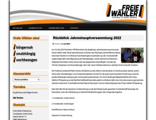 freie-waehler-philippsburg.de screenshot