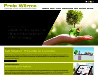 freie-waerme.de screenshot