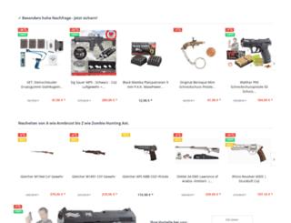 freie-waffen.com screenshot