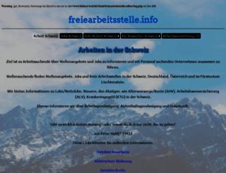 freiearbeitsstelle.info screenshot