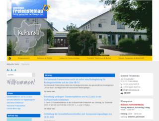 freiensteinau.de screenshot