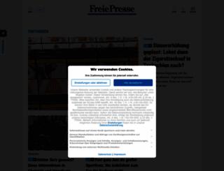 freiepresse.de screenshot