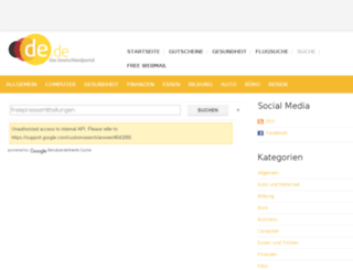 freiepressemitteilungen.de.de screenshot