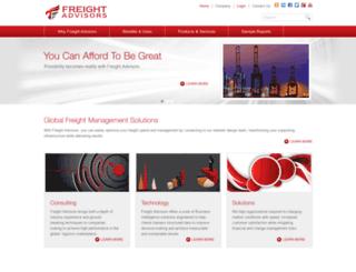 freight-advisors.com screenshot