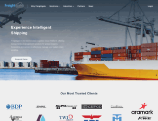 freightgate.com screenshot