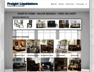freightliquidators.com screenshot