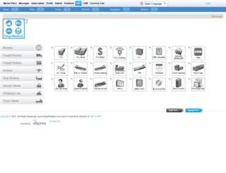 freightmarket.com screenshot