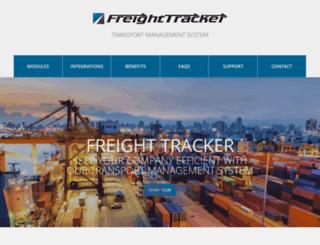 freighttracker.com.au screenshot