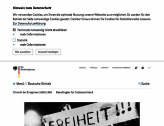 freiheit-und-einheit.de screenshot