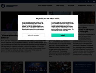 freiheit.org screenshot