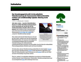 freiheitsfoo.de screenshot
