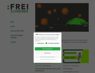 freischreiber.de screenshot